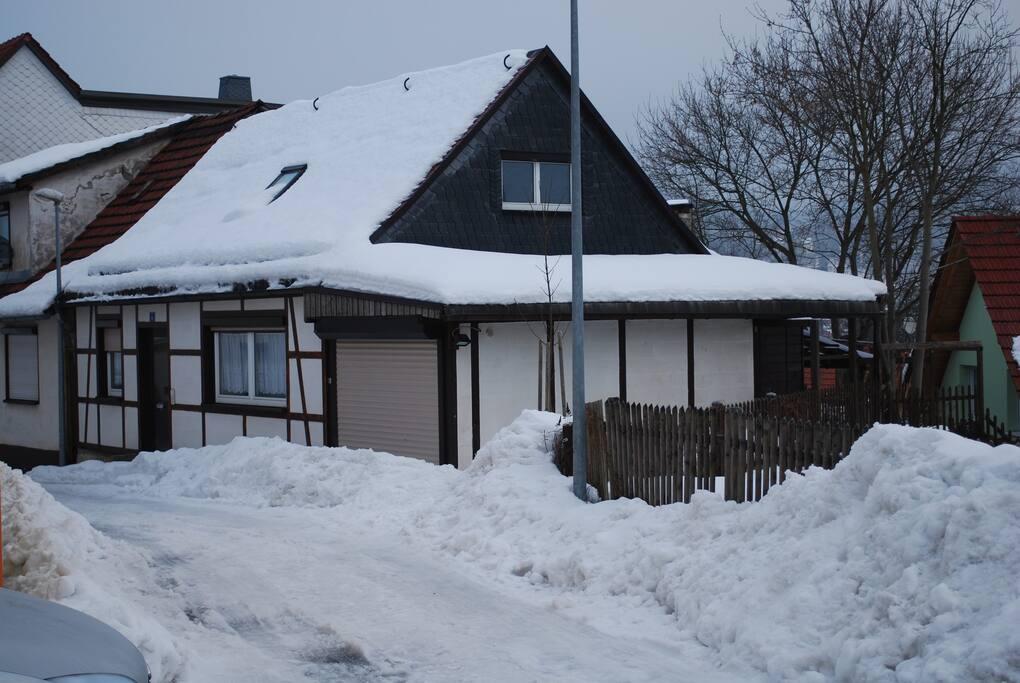 Ferienhaus Kaiser im Winter