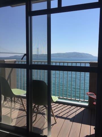 Relaxing ocean view condo - 神戸市 - Wohnung