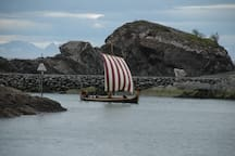 The vikings are everywhere. There is a big viking museum only 28 kilometers away.