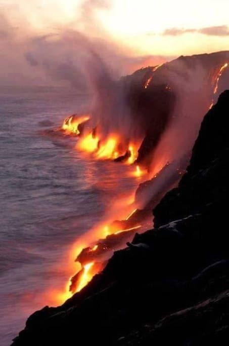 Come visit where the lava meets the sea ~ Hike/bike there from the house!