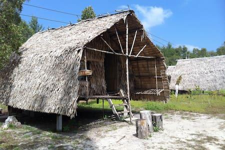 Bamboo hut, beautiful& peaceful is. - Ko Phra Thong