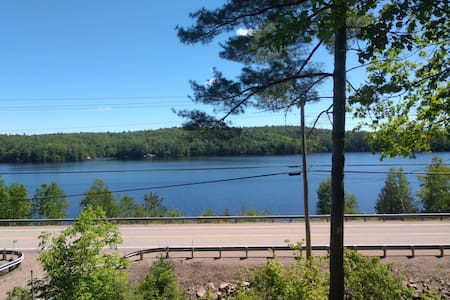 All season cottage overlooking Mazinaw Lake.