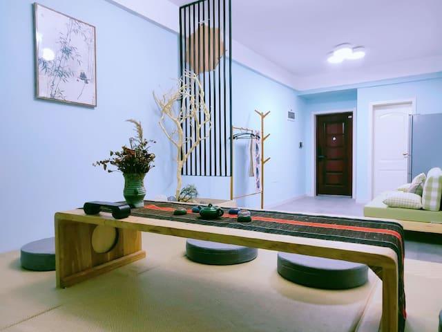 艾益天下城市民宿生活馆中华世纪城北区中式禅意