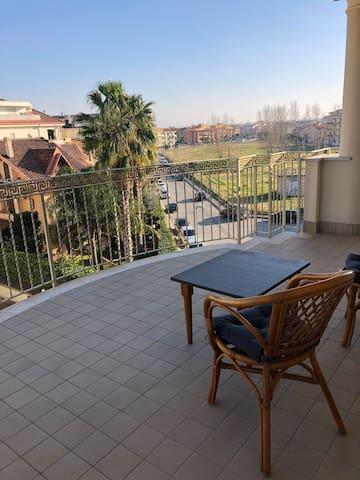 Cozy open area by Teverola/Aversa