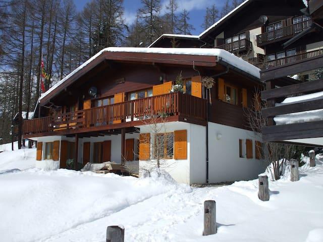 Luxe chalet in ski/wandelgebied - Bellwald - Villa