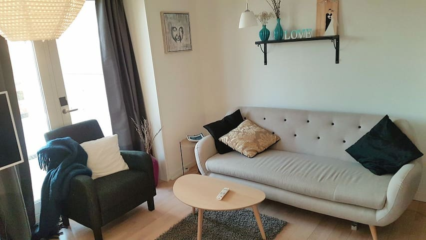 New & bright apartment w. balcony!☆ - Rødovre - Apartamento