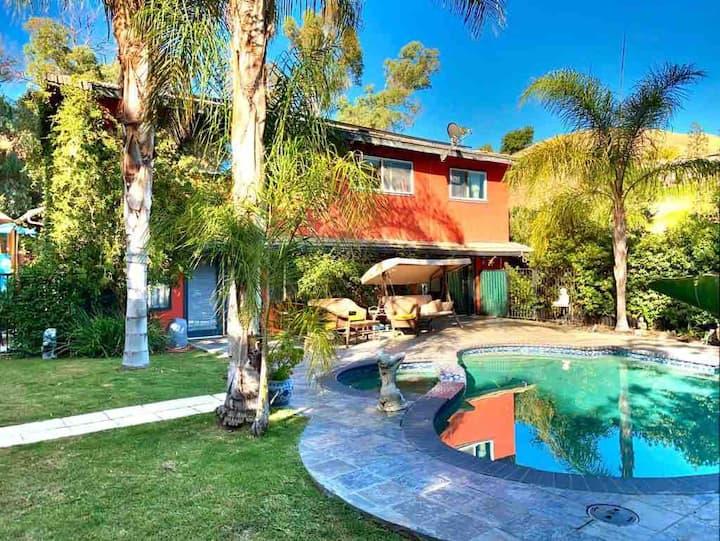 Peaceful Topanga Canyon Pool Home