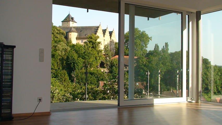 65m² große stilvolle Ferienwohnung - Schonungen - Apartment