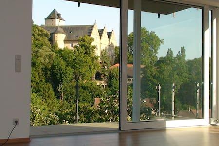 65m² große stilvolle Ferienwohnung - Schonungen - อพาร์ทเมนท์