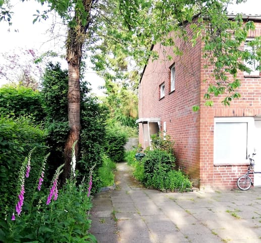 Ruhige 1-Zimmer Wohnung in der Nähe von Hamburg