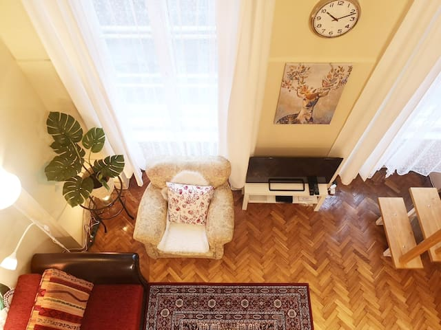 Cozy Apartment Dunabe & Buda Castle