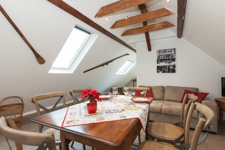 BREDEL HOUSE-3rooms-6pers-pool-wifi - Geudertheim - Apartment