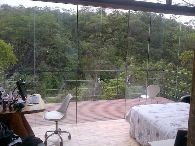 Bangalô da Pedreira - p/ 2 pessoas - Pirenópolis - Dom