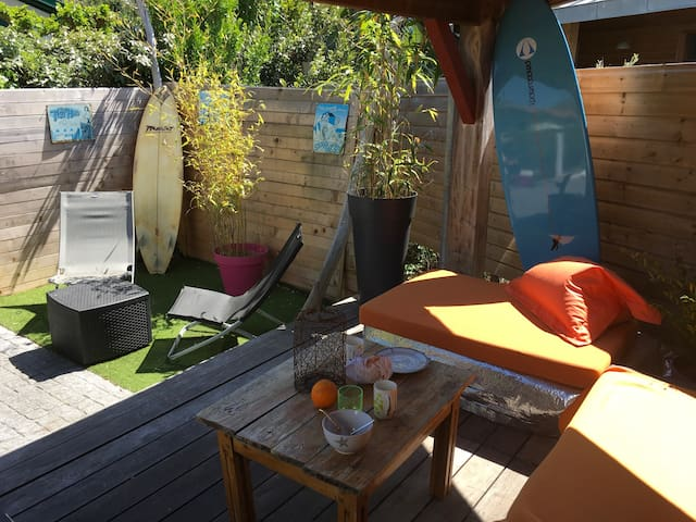 SPOTSLEEPING C2L1 CHAMBRE D'AMOUR ANGLET - Anglet - Casa