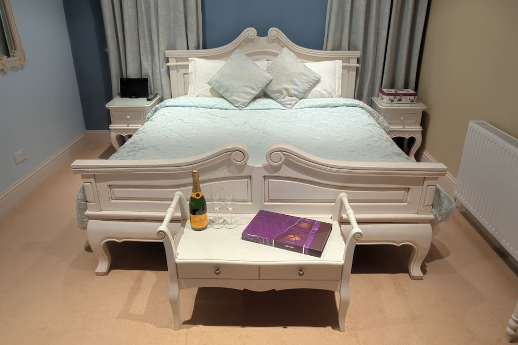 Our Parisian Dreams Suite with super-king bed
