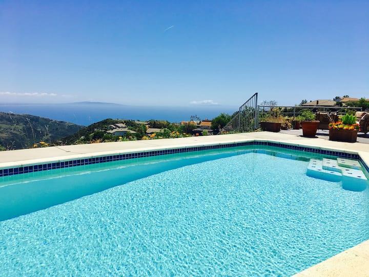 Malibu 4 BD house w/amazing view