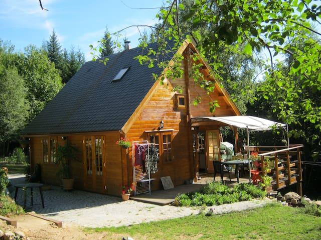 maison bois en pleine nature - Treignac - Aarde Huis
