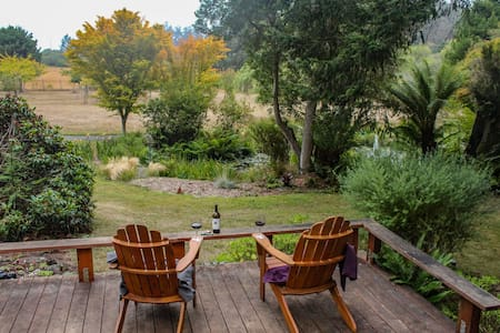 20 Acre Family Farm; hot tub, orchard, chickens