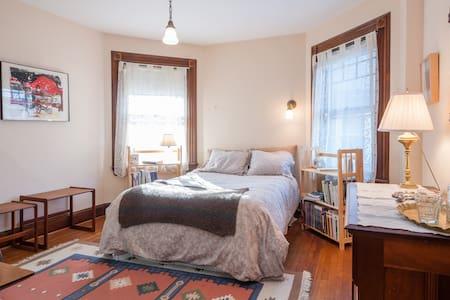 Queen Anne Bed & Breakfast Room # 1 - Binghamton - Casa