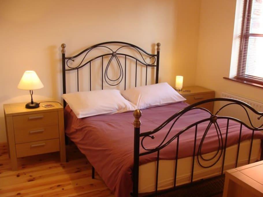 Comfortable bedrooms