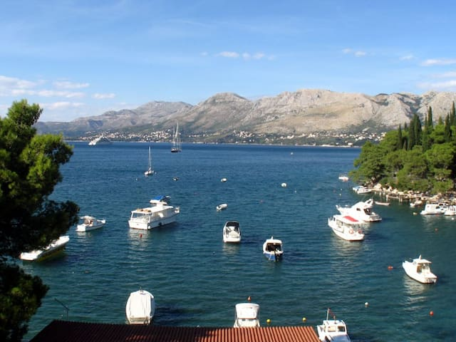 Cozy apt in Cavtat,10m from beach - Cavtat - House
