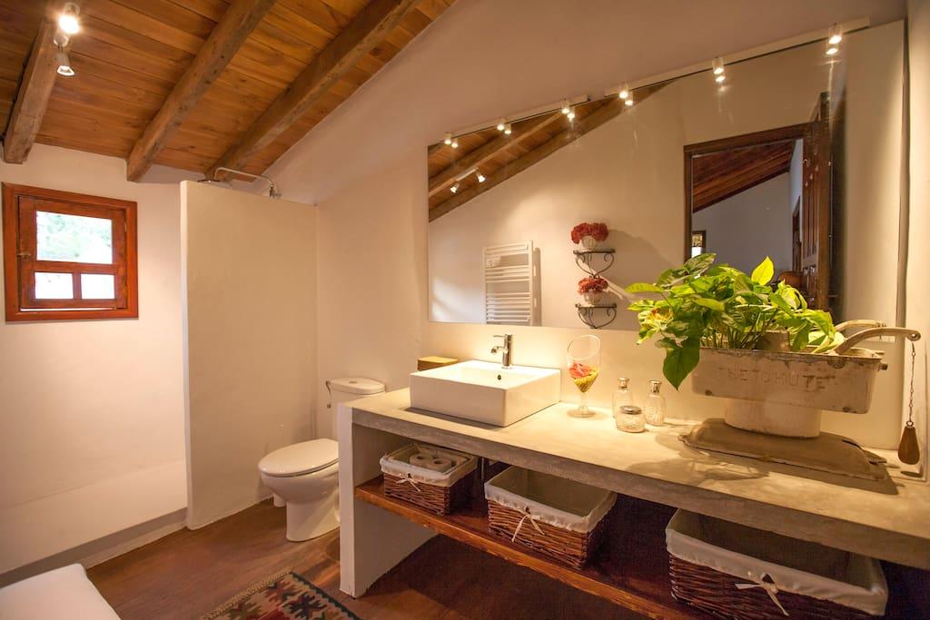Marques de San Andres (4 people) - Bathroom