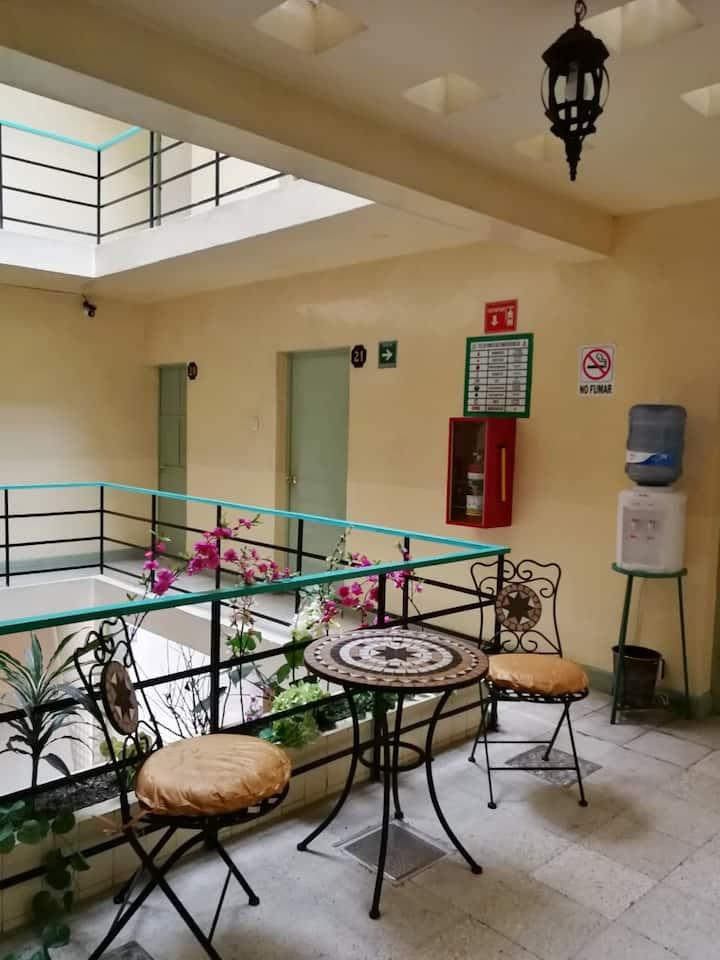 Habitación de hotel en el centro de Orizaba