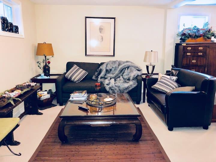 Gr8 Bedroom w/ Private Living Room Min 2 Blue Mtn