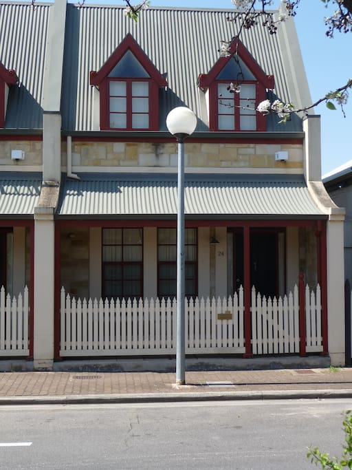Villa on Louisa is your own home away from home while in Adelaide