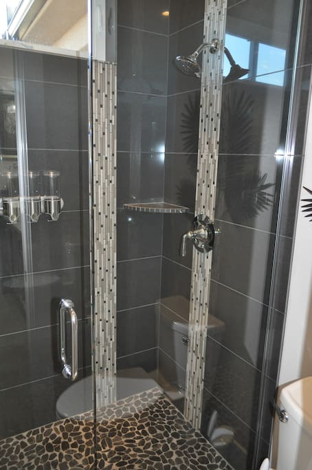 Double Spa Shower