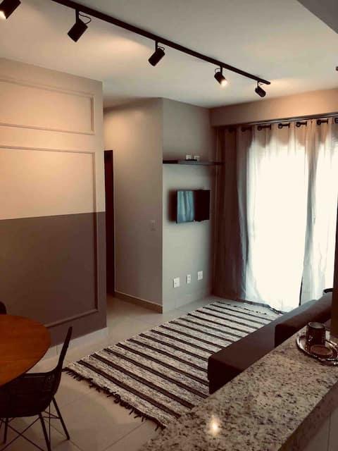Moderno apartamento com a melhor vista de Belém.