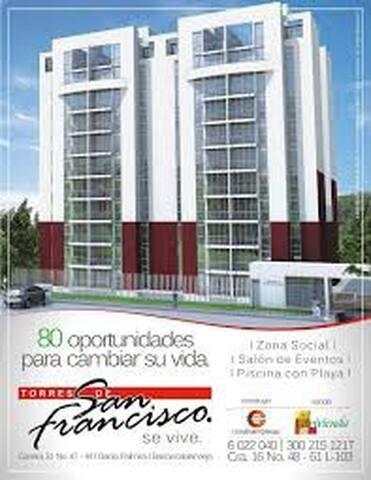 Apartamento amoblado en Barrancabermeja