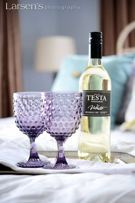 We will have Testa White chilled and ready!