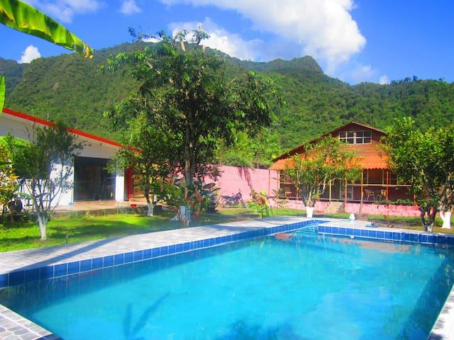 Casa de campo acogedora en Tingo María  :)