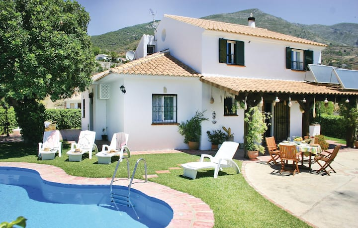 Nice home in Mijas with WiFi and 4 Bedrooms