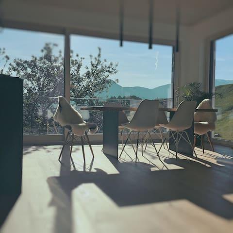 Große moderne Wohnung - Erlach