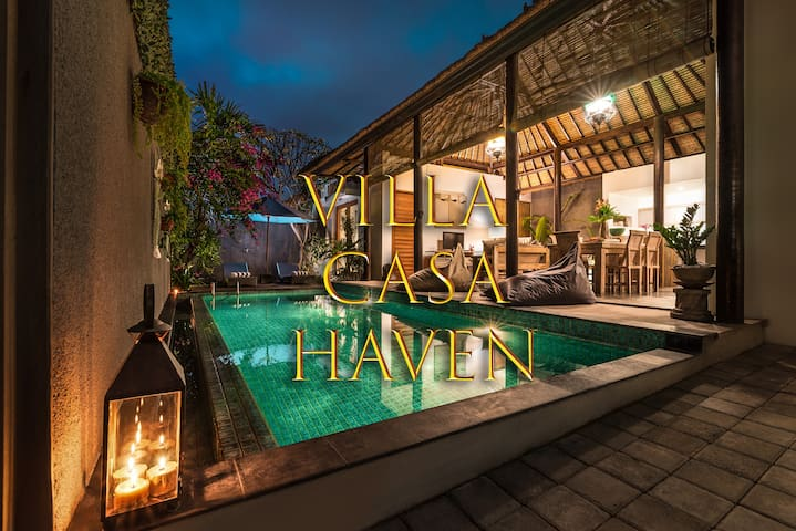 2BR Villa Casa Haven - Heart of Canggu - Big Pool