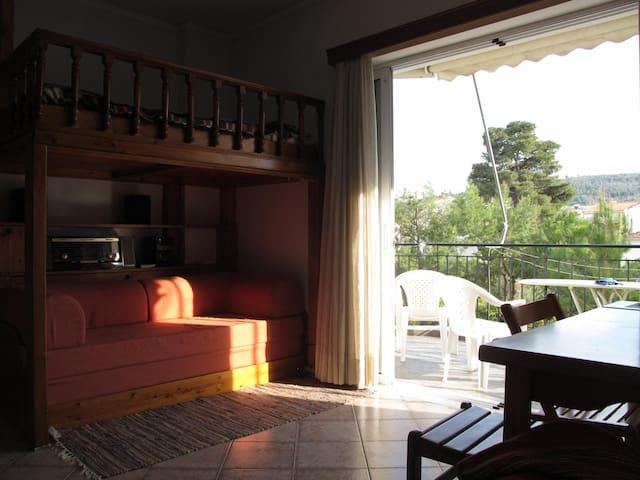 Cozy sunny studio