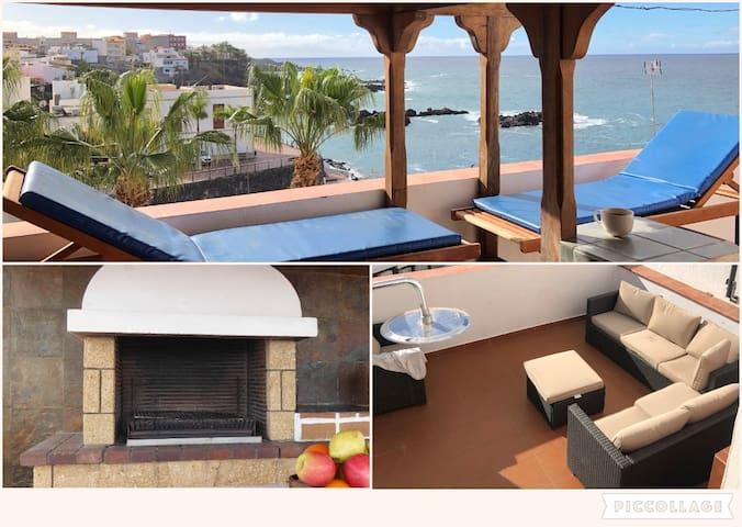 Dream view terrace / modern Apart. / 80m to beach