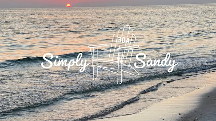 Simply Sandy on 30A ~ 1-Min Walk To Seagrove Beach