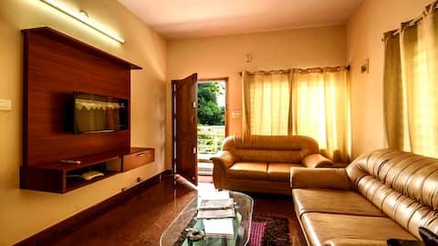 1 Bedroom Service Apartment near Manyata Tech Park