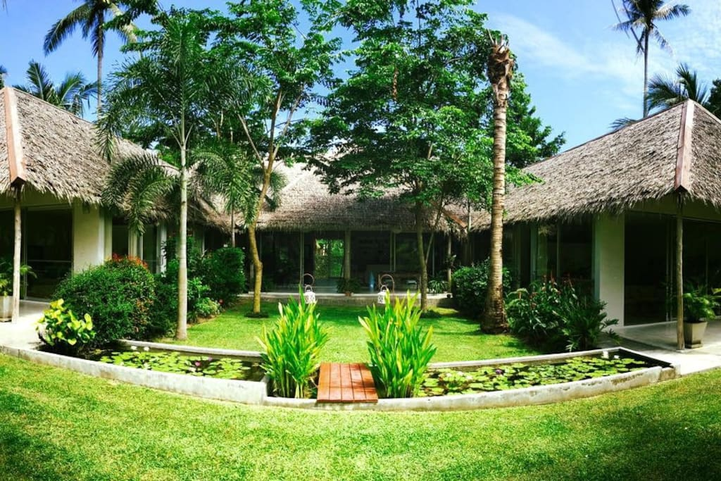 House with acre garden