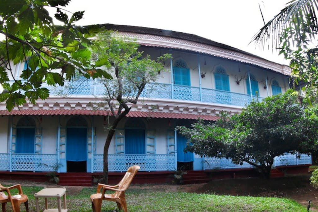 Experiencing an Old Goan House @ The Honeymooners Houstel