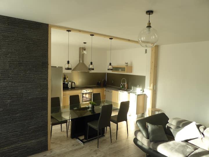 Gap Appartement chaleureux entièrement meublé 83m2