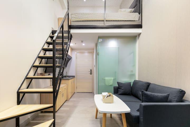 世界之窗周边唯一loft公寓沙河公寓