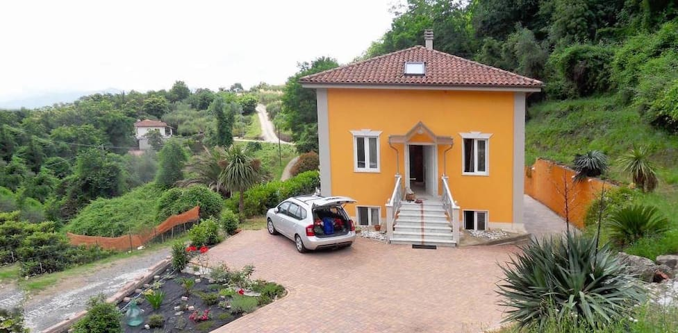 VILLA PEGUI -classic mansion at an ancient village