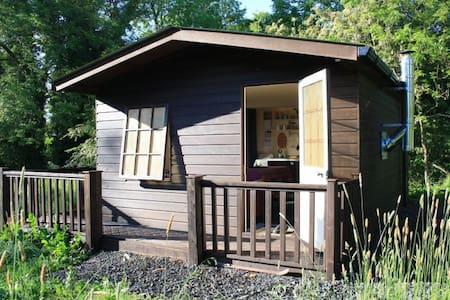 Eco Cabin with meadow and stream. - Oldcastle