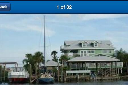 Immaculate  Waterfront  5 mi Kemah - Huis