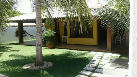 Casa no Litoral Norte, cond. Parque do Jacuípe