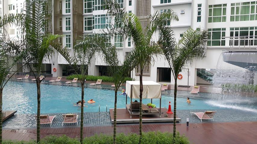 Resort styled Condo near TBS Kuala Lumpur